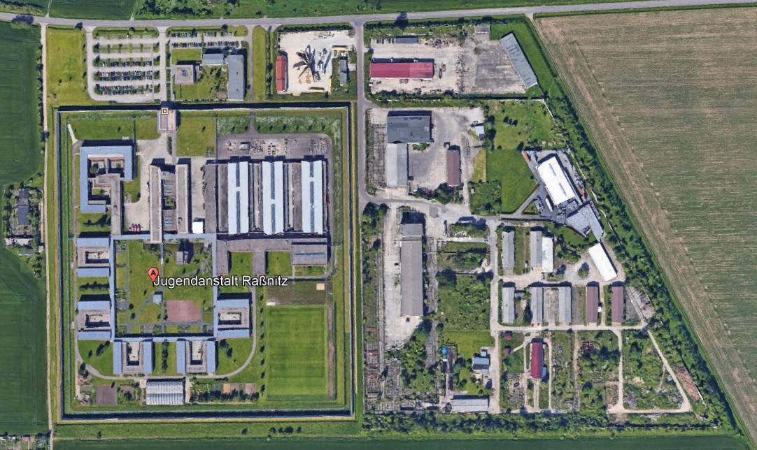 Ansicht der JA Raßnitz - Justizvollzugsanstalt.org