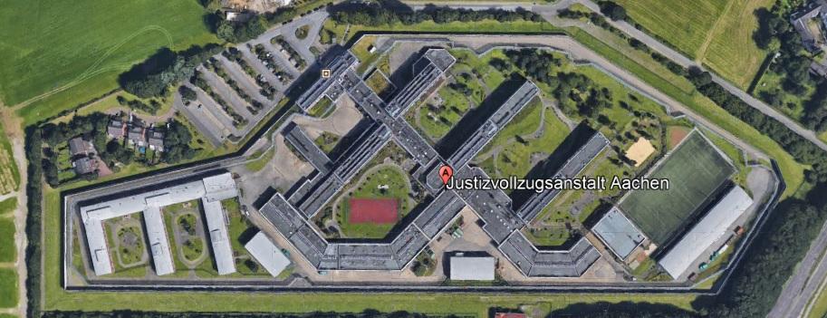 Ansicht der JVA Aachen - Justizvollzugsanstalt.org