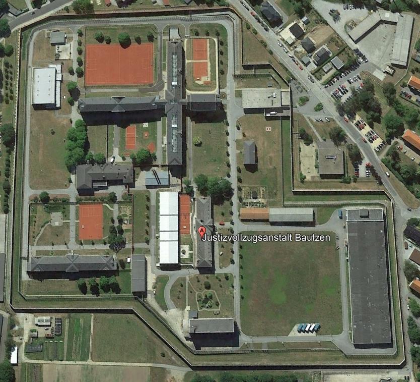 Ansicht der JVA Bautzen - Justizvollzugsanstalt.org