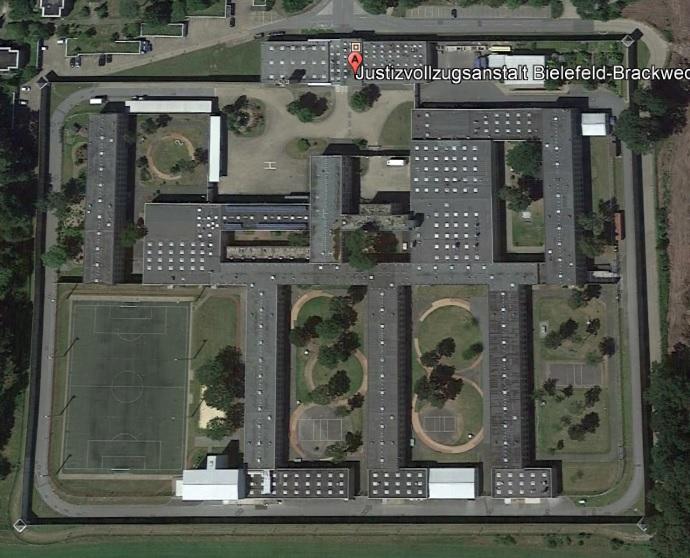 Ansicht der JVA Bielefeld-Brackwede - Justizvollzugsanstalt.org