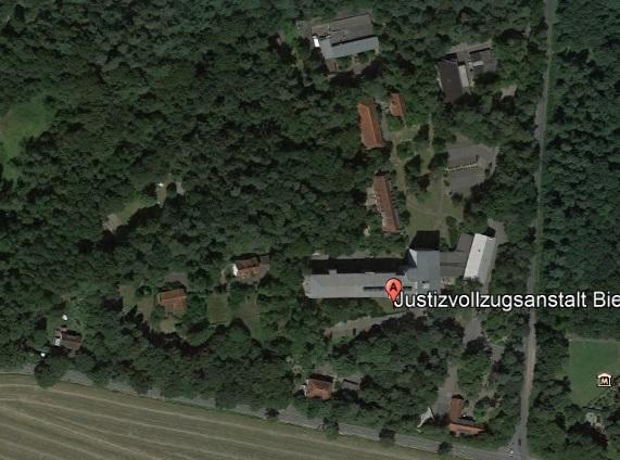Ansicht der JVA Bielefeld-Senne - Justizvollzugsanstalt.org