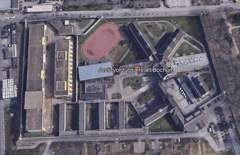 Ansicht der JVA Bochum - Justizvollzugsanstalt.org
