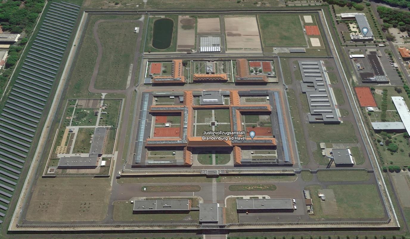 Ansicht der JVA Brandenburg - Justizvollzugsanstalt.org