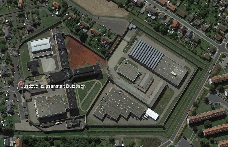 Ansicht der JVA Butzbach - Justizvollzugsanstalt.org