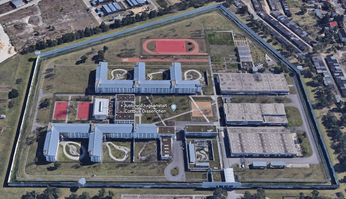 Ansicht der JVA Cottbus-Dissenchen - Justizvollzugsanstalt.org