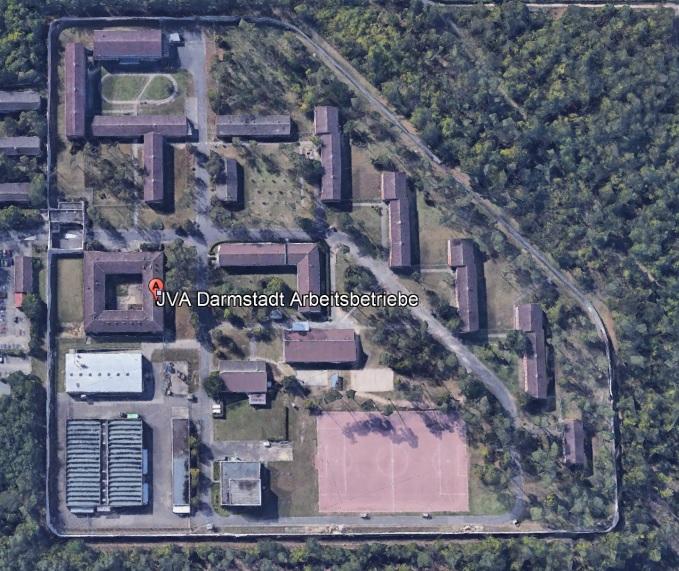 Ansicht der JVA Darmstadt - Justizvollzugsanstalt.org