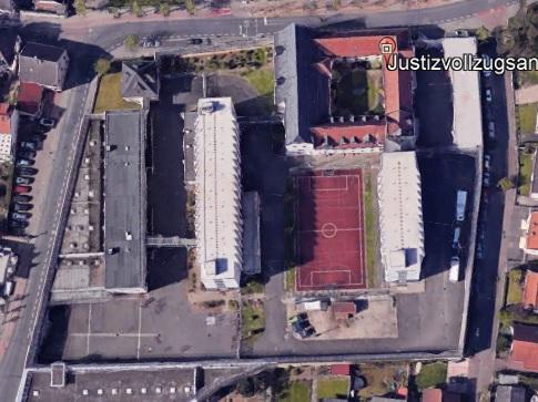 Ansicht der JVA Dieburg - Justizvollzugsanstalt.org
