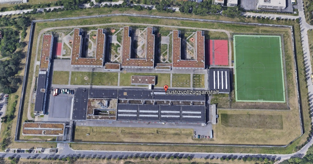 Ansicht der JVA Dresden - Justizvollzugsanstalt.org