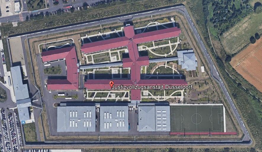 Ansicht der JVA Düsseldorf - Justizvollzugsanstalt.org