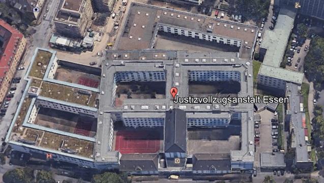 Ansicht der JVA Essen - Justizvollzugsanstalt.org