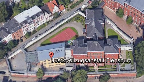 Ansicht der JVA Flensburg - Justizvollzugsanstalt.org