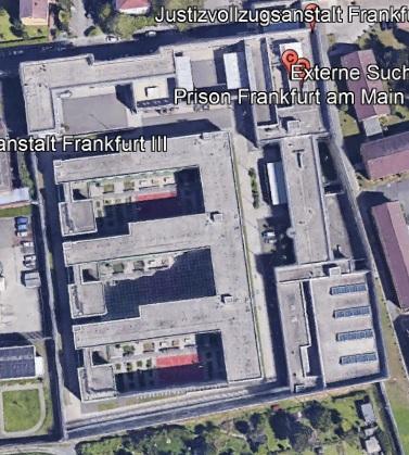 Ansicht der JVA Frankfurt 1 - Justizvollzugsanstalt.org