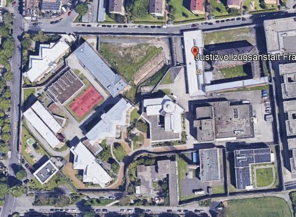 Ansicht der JVA Frankfurt 3 - Justizvollzugsanstalt.org