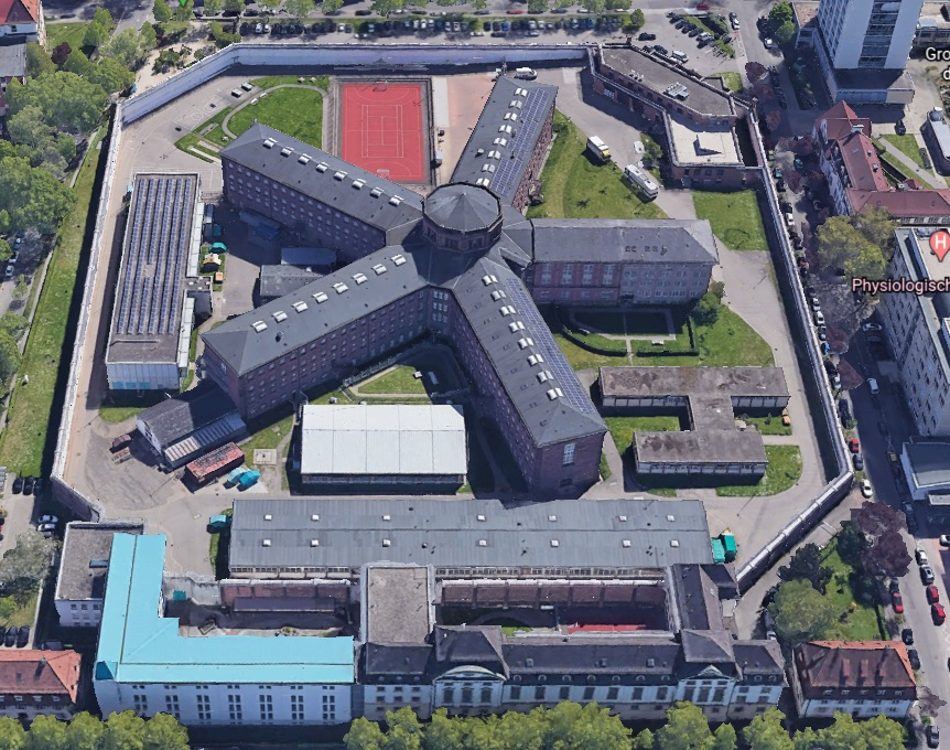 Ansicht der JVA Freiburg - Justizvollzugsanstalt.org