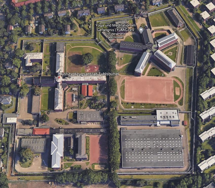 Ansicht der JVA Fuhlsbüttel - Justizvollzugsanstalt.org