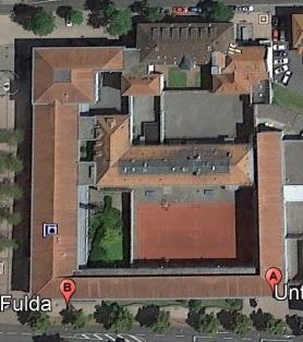 Ansicht der JVA Fulda - Justizvollzugsanstalt.org