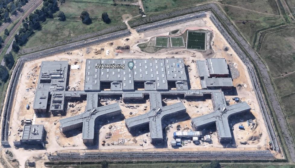 Ansicht der JVA Heidering - Justizvollzugsanstalt.org