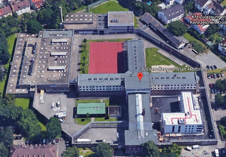 Ansicht der JVA Heilbronn - Justizvollzugsanstalt.org