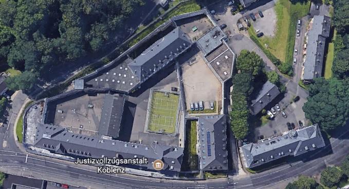 Ansicht der JVA Koblenz - Justizvollzugsanstalt.org