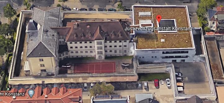Ansicht der JVA Konstanz - Justizvollzugsanstalt.org