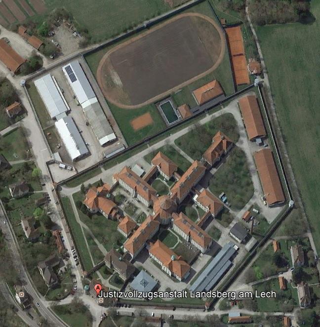 Ansicht der JVA Landsberg - Justizvollzugsanstalt.org