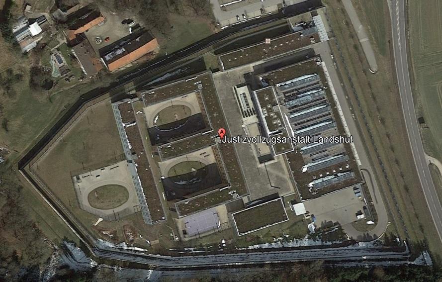 Ansicht der JVA Landshut - Justizvollzugsanstalt.org