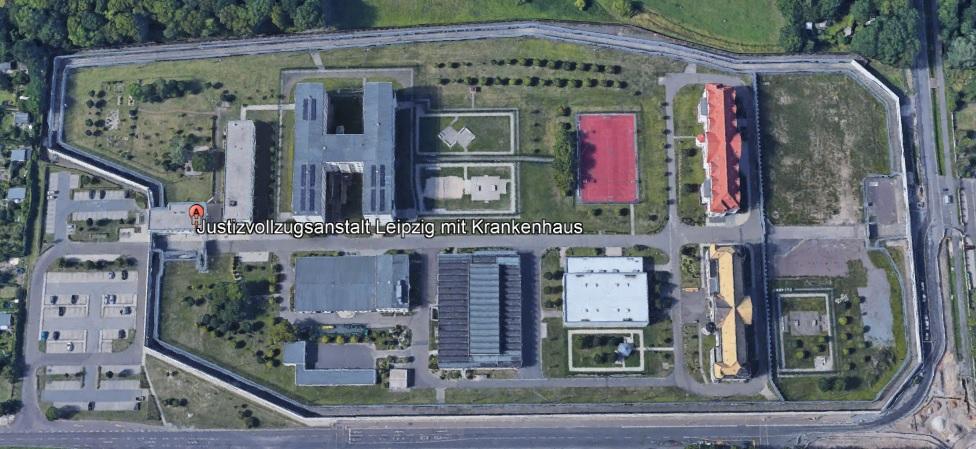 Ansicht der JVA Leipzig - Justizvollzugsanstalt.org