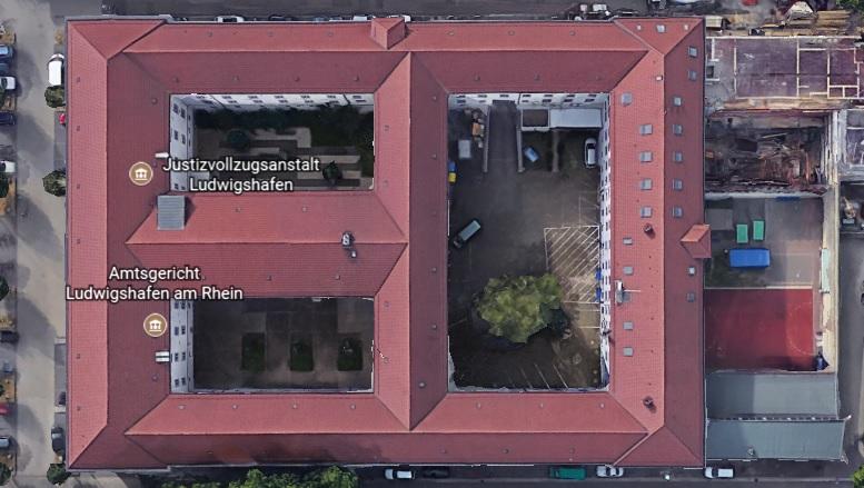 Ansicht der JVA Lutwigshafen (SothA) - Justizvollzugsanstalt.org