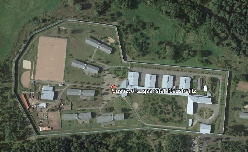 Ansicht der JVA Neustrelitz - Justizvollzugsanstalt.org