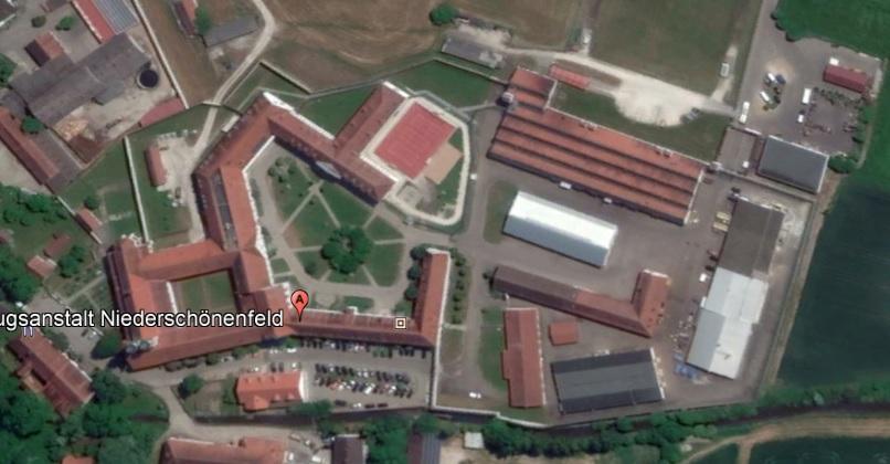 Ansicht der JVA Niederschönenfeld - Justizvollzugsanstalt.org