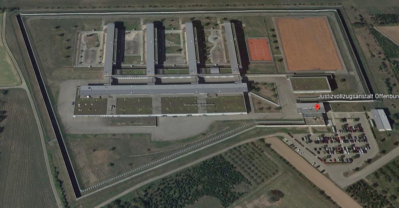 Ansicht der JVA Offenburg - Justizvollzugsanstalt.org