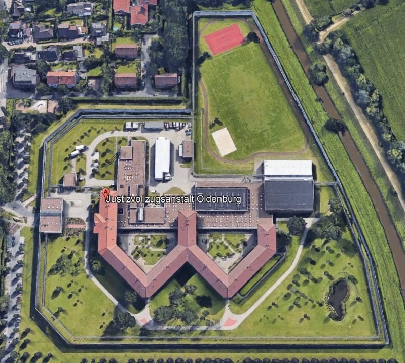 Ansicht der JVA Oldenburg - Justizvollzugsanstalt.org