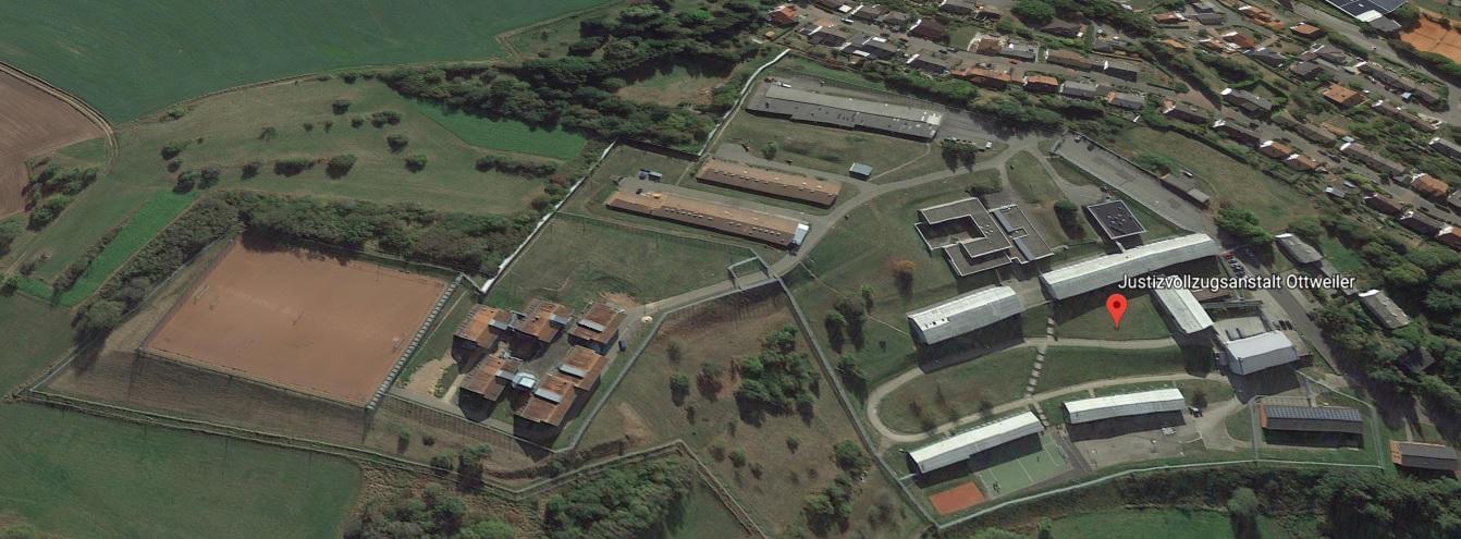 Ansicht der JVA Ottweiler - Justizvollzugsanstalt.org