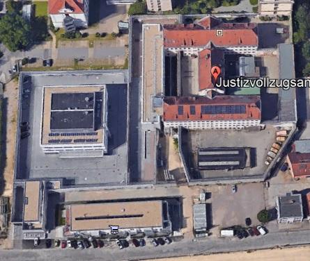 Ansicht der JVA Regensburg - Justizvollzugsanstalt.org