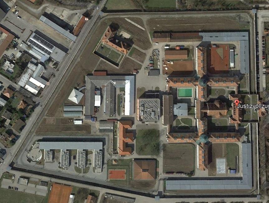Ansicht der JVA Straubing - Justizvollzugsanstalt.org