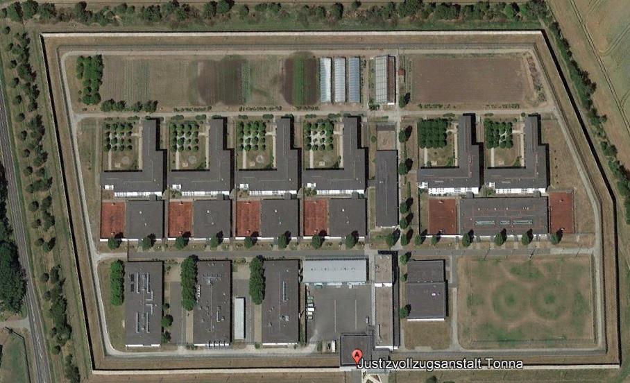 Ansicht der JVA Tonna - Justizvollzugsanstalt.org