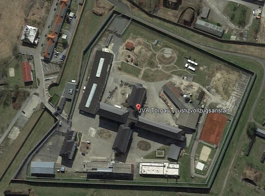 Ansicht der JVA Torgau - Justizvollzugsanstalt.org