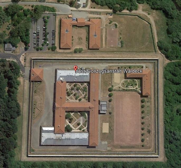 Ansicht der JVA Waldeck - Justizvollzugsanstalt.org