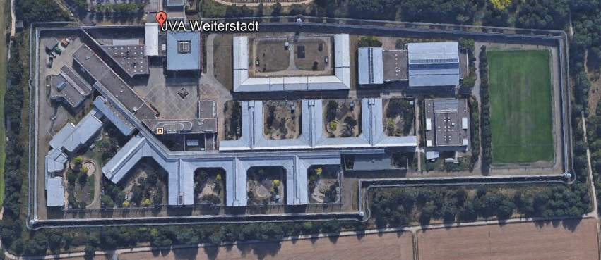 Ansicht der JVA Weiterstadt - Justizvollzugsanstalt.org