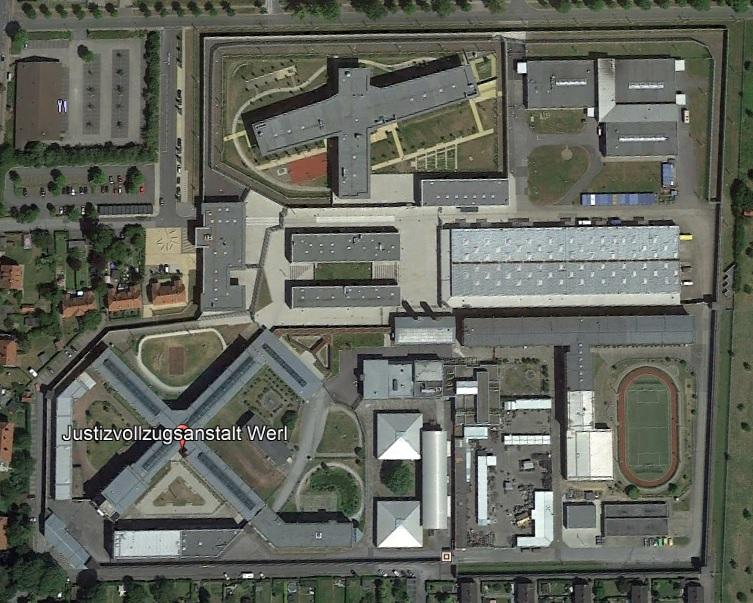 Ansicht der JVA Werl - Justizvollzugsanstalt.org
