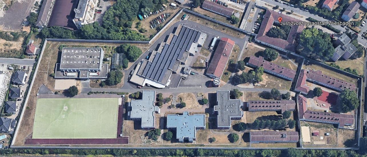 Ansicht der JVA Wiesbaden - Justizvollzugsanstalt.org