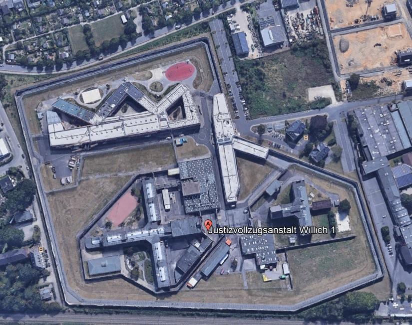 Ansicht der JVA Willich 1 - Justizvollzugsanstalt.org