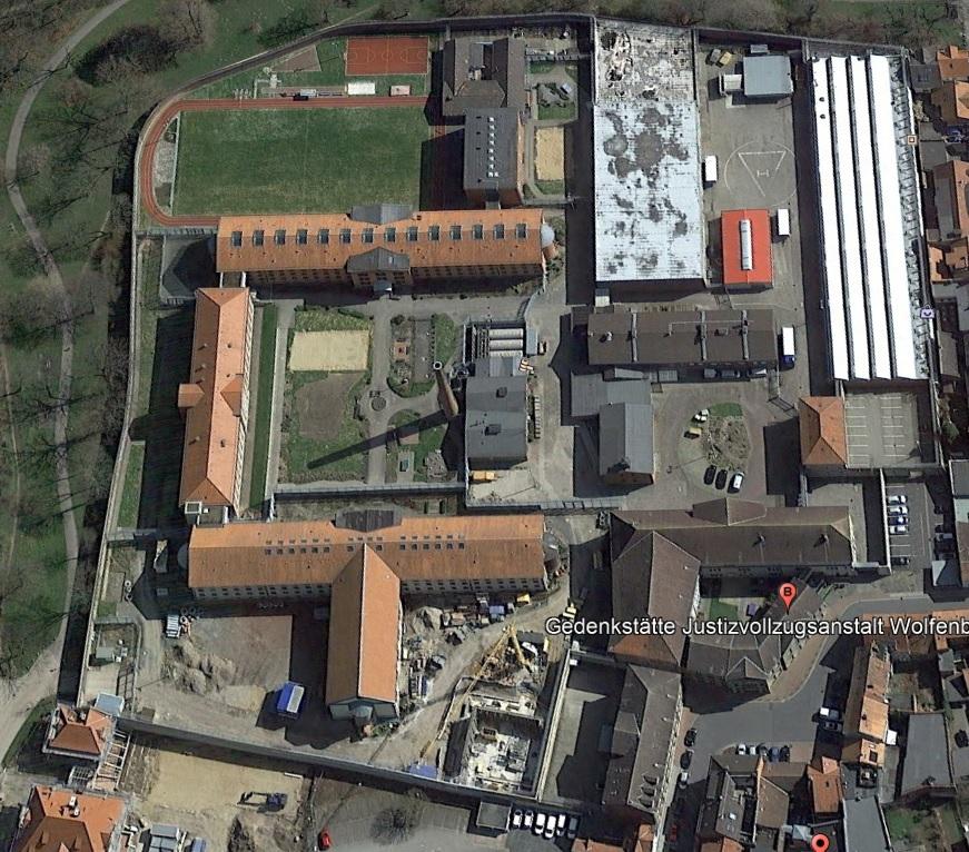 Ansicht der JVA Wolfenbüttel - Justizvollzugsanstalt.org