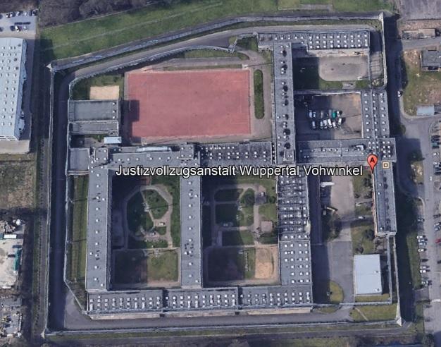 Ansicht der JVA Wuppertal-Vohwinkel - Justizvollzugsanstalt.org